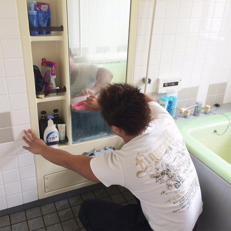 自立支援施設MIRAIの1日 入浴・自由時間